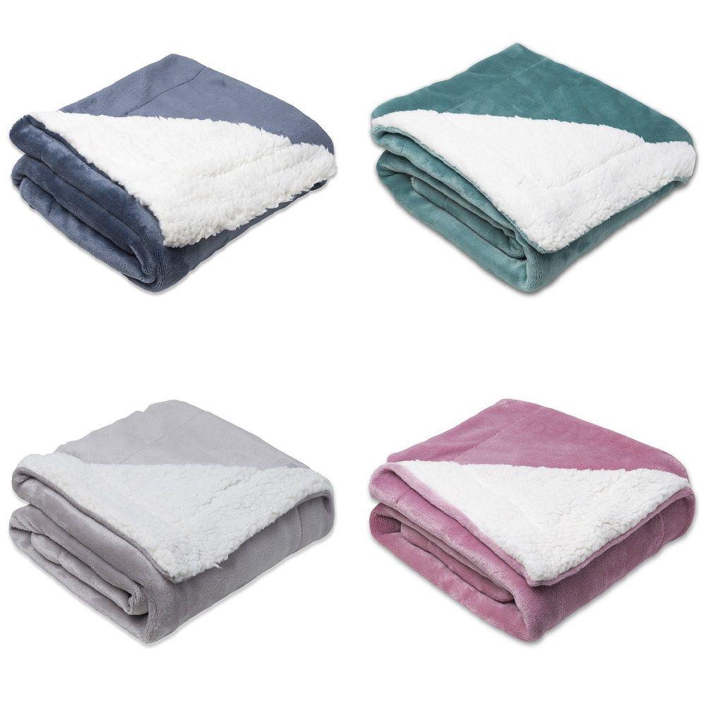 Cobertor Infantil Berço Bebê Sherpa Sultan 400g/m² Toque Macio