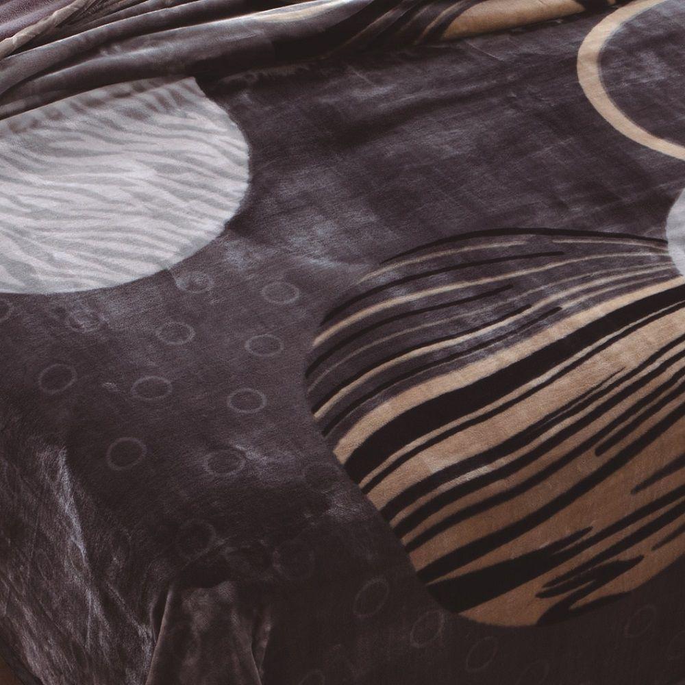 Cobertor Jolitex Casal Dupla Face Raschel Double Action Atlantic