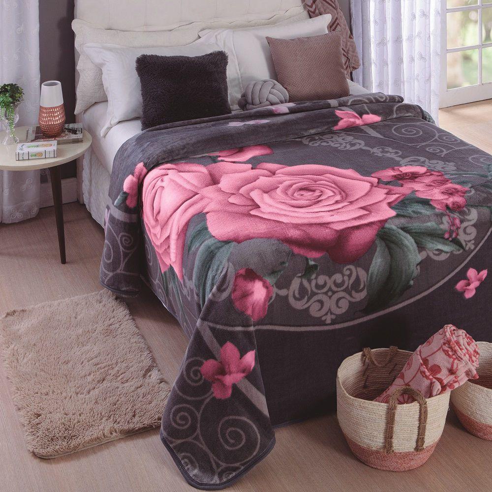 Cobertor Jolitex Casal Kyor Plus 1,80x2,20m Bruxelas