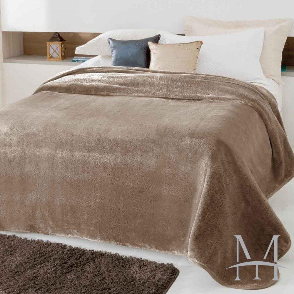 Cobertor Jolitex Casal Kyor Plus 1,80x2,20m Liso Bege
