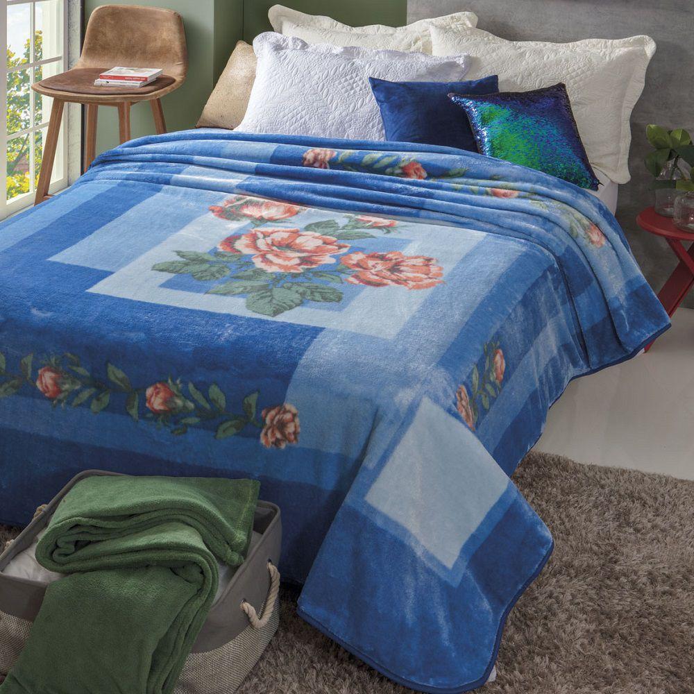 Cobertor Jolitex Casal Kyor Plus 1,80x2,20m Taormina