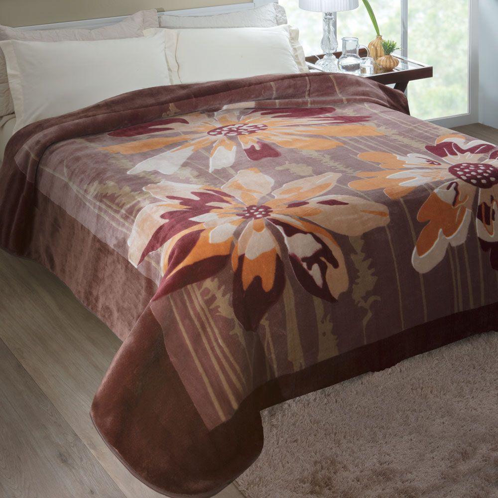 Cobertor Jolitex Casal Raschel Toque Macio Columbia