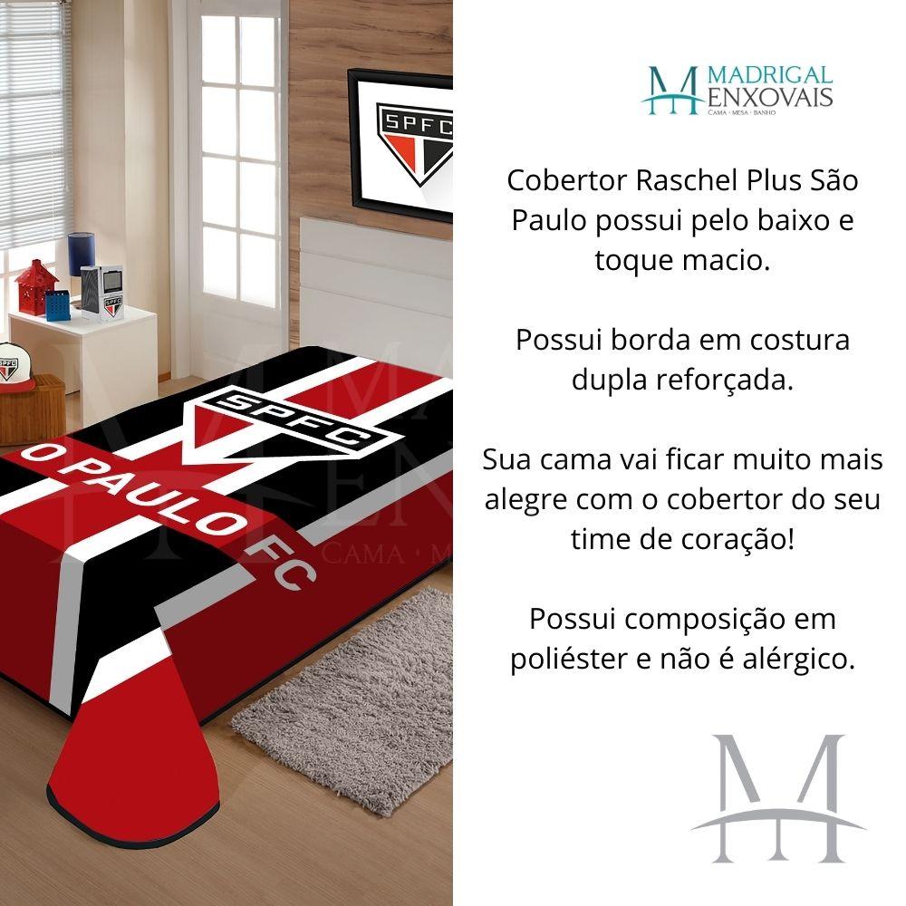 Cobertor Jolitex Casal São Paulo Raschel Time Toque Macio