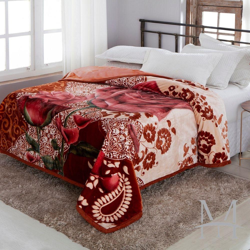 Cobertor Jolitex King Dupla Face Raschel Double Alicante