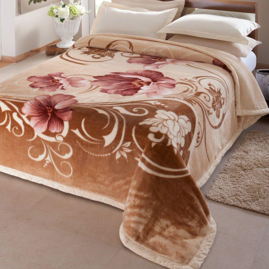 Cobertor Jolitex King Dupla Face Raschel Double Luxor