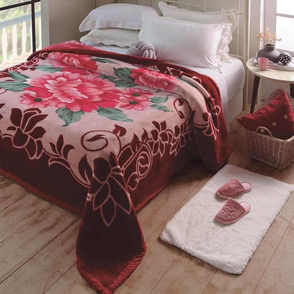 Cobertor Jolitex King Raschel Plus 2,20x2,40m Irtich