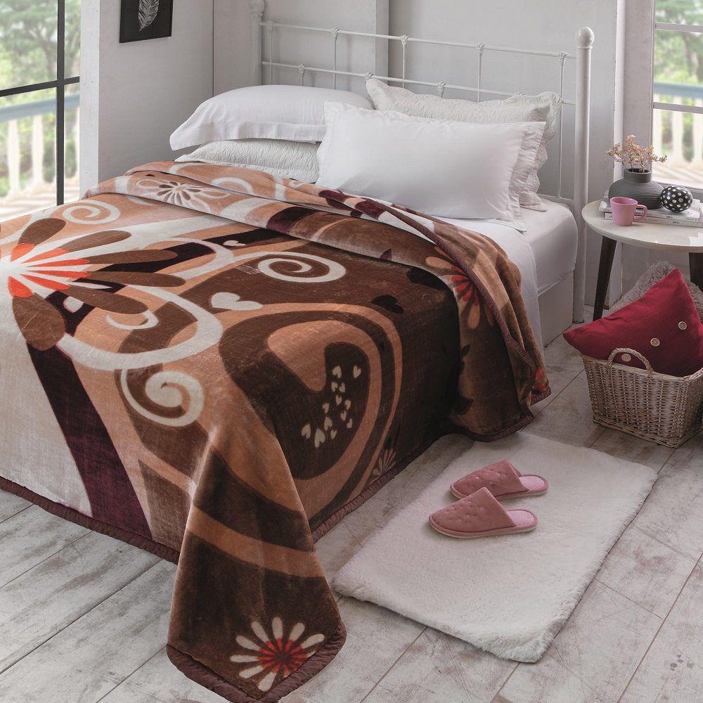 Cobertor Jolitex King Raschel Plus 2,20x2,40m Marnel