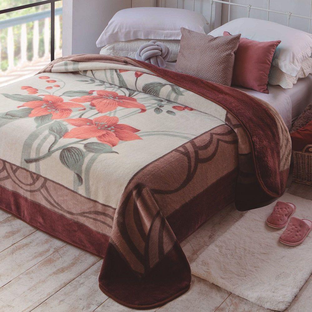 Cobertor Jolitex King Size Kyor Plus 2,20x2,40m Açores