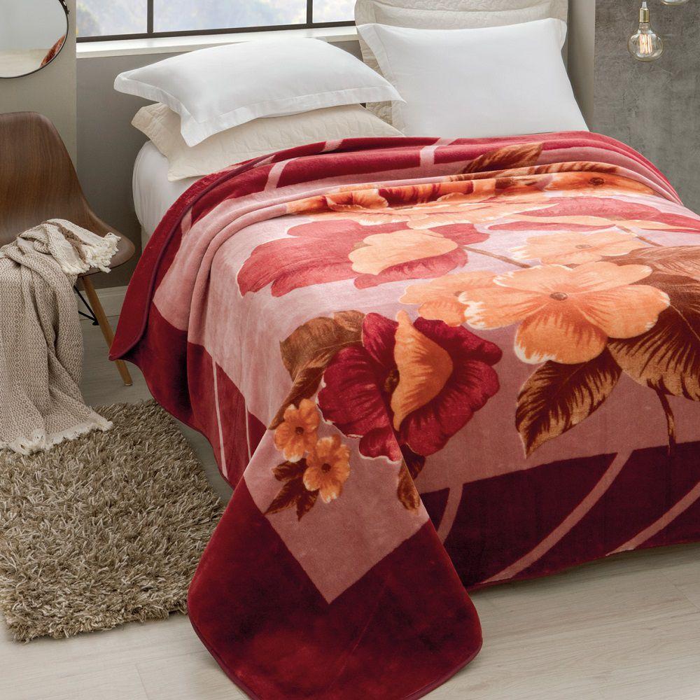 Cobertor Jolitex King Size Raschel Toque Macio Esperance