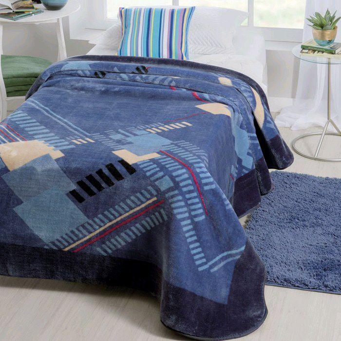 Cobertor Jolitex Solteiro Raschel Toque Macio Tecnos