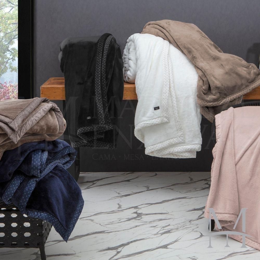 Cobertor King Kacyumara Blanket 700 Liso 2,40x2,60m Rosê