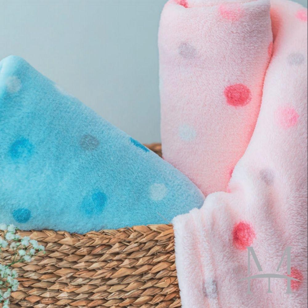 Cobertor Infantil Berço Bebê Poá Camesa 0,90x1,10m Microfibra