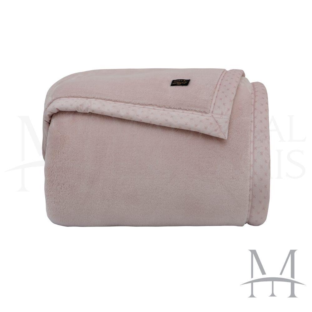 Cobertor Queen Kacyumara Blanket 700 Liso 2,20x2,40m Rosê