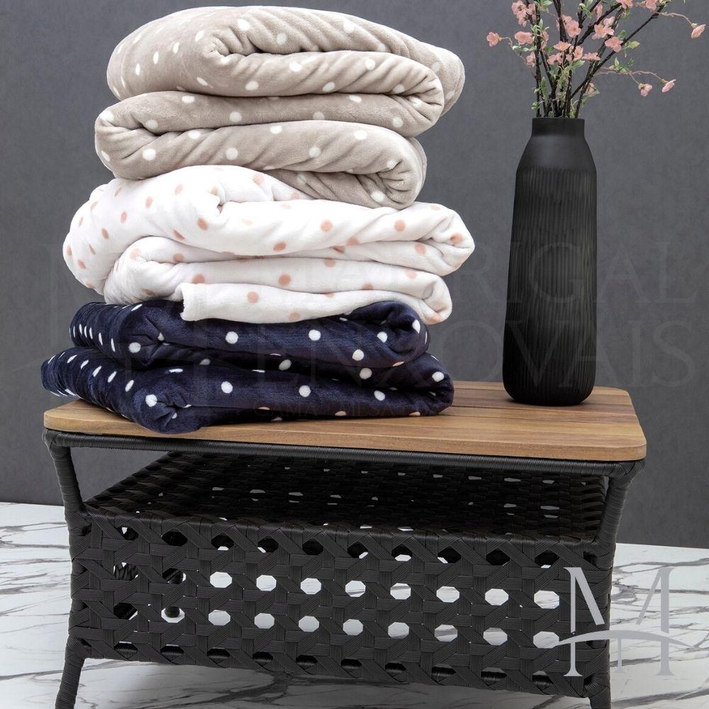 Cobertor Queen Kacyumara Blanket Vintage Poa 2,20x2,40m