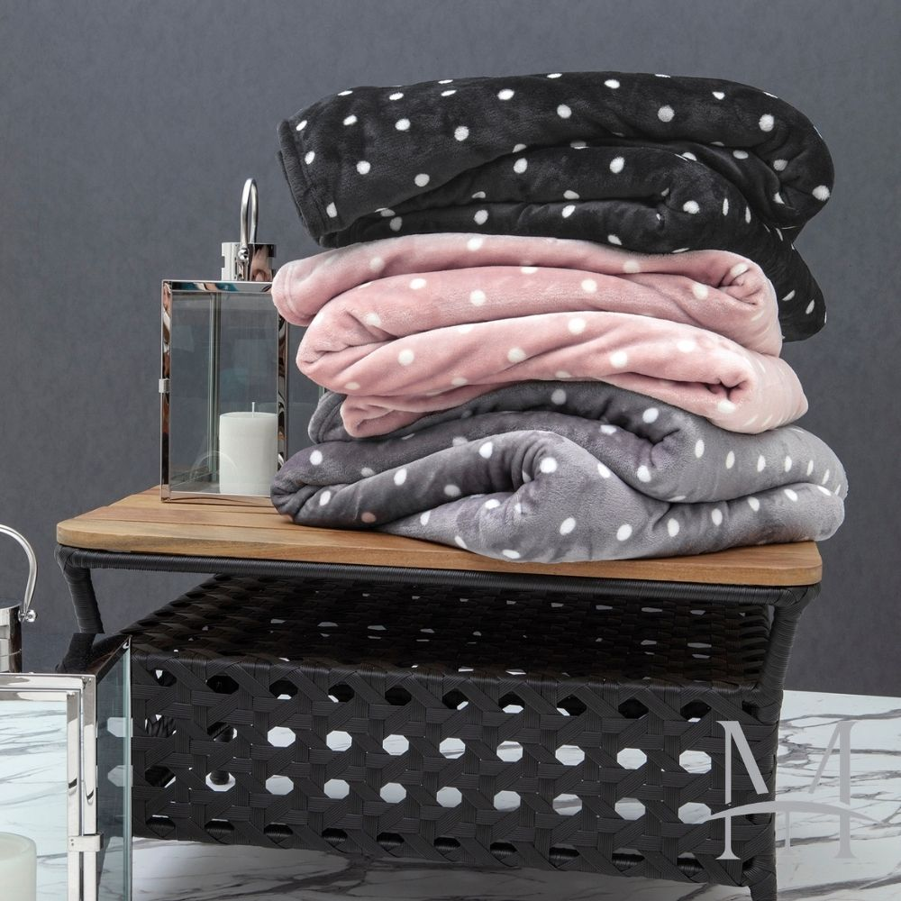Cobertor Solteiro Kacyumara Blanket Vintage Poa 1,60x2,20m