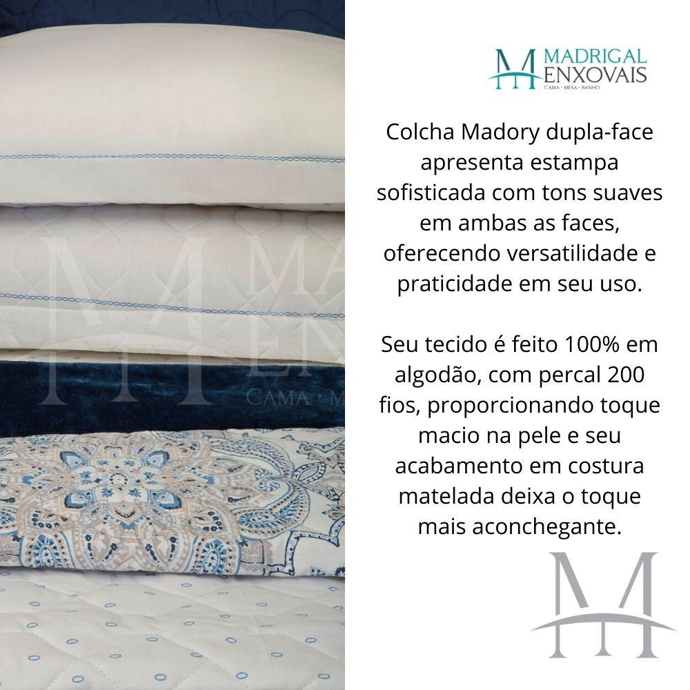 Cobreleito Queen 200 Fios Kacyumara 03 Peças Vida Bela Madory