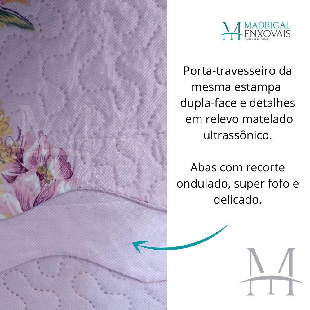 Colcha King Patchwork Ultrasonic Dyuri 03 Peças Apucarana