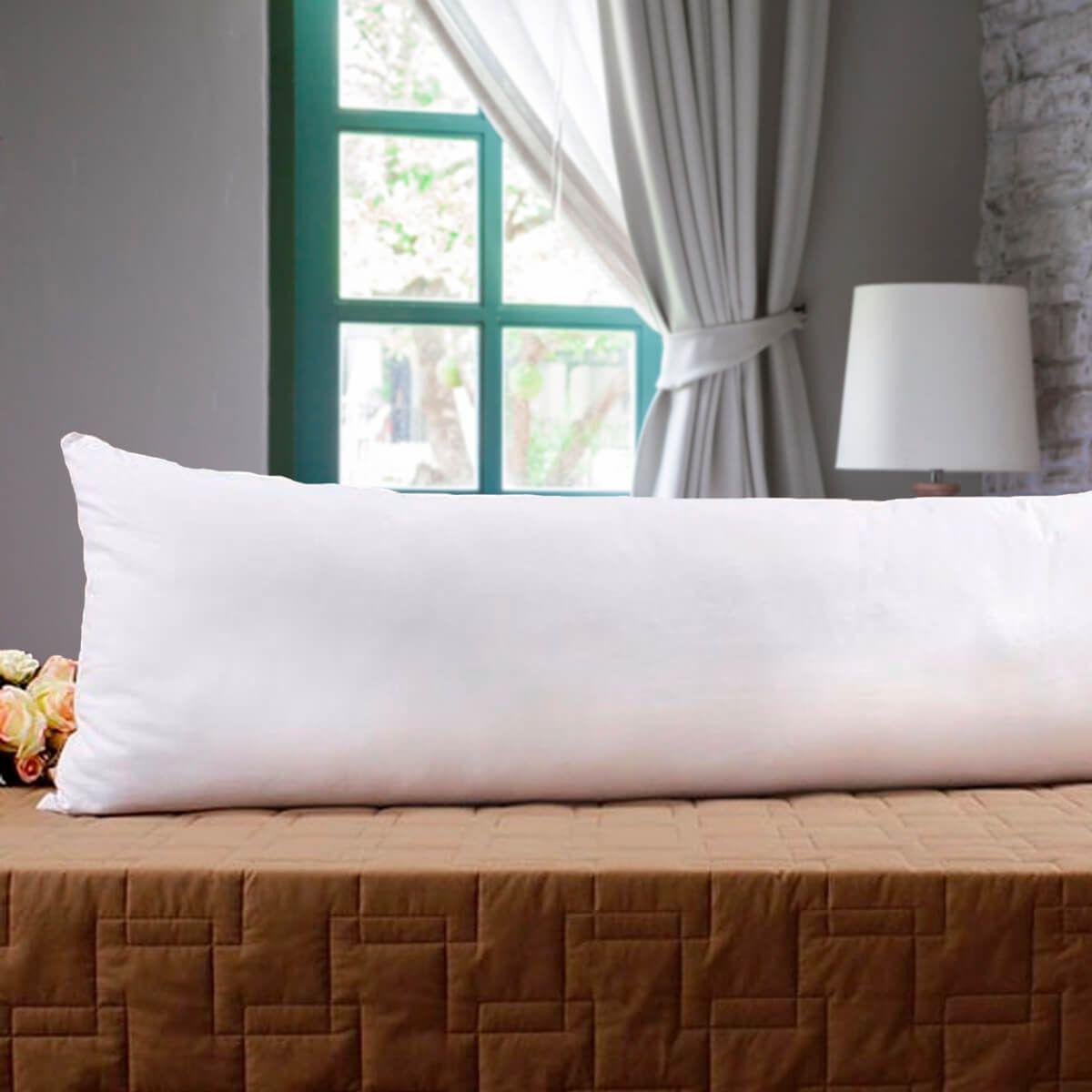 Fronha Avulsa Gigante p/ Travesseiro Corpo 0,40x1,30m Percal 180 Fios