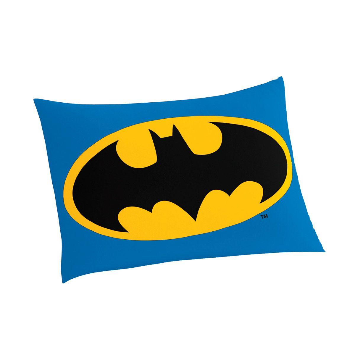 Fronha Avulsa Infantil Batman 01 Peça Lepper Oficial