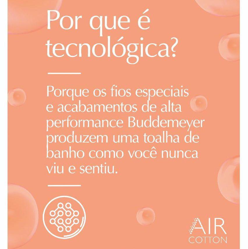 Jogo de Banho Buddemeyer 05 Peças Dual Air Cotton 100% Algodão