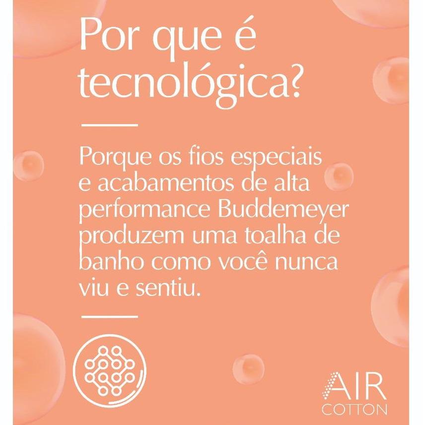 Jogo de Banho Buddemeyer Gigante 05 Peças Dual Air 100% Algodão