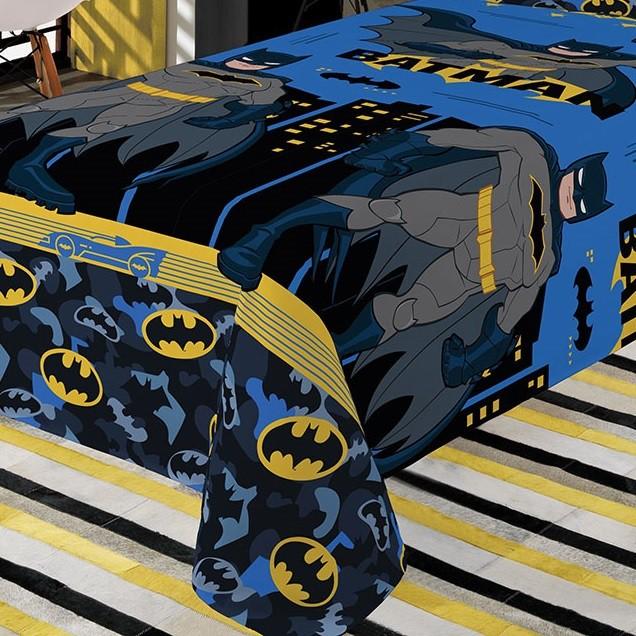 Jogo de Cama Infantil Batman Microfibra 02 Peças Lepper
