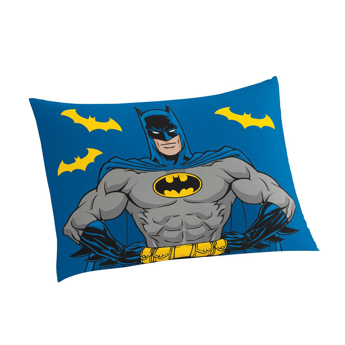 Jogo De Lençol Infantil Batman 02 Peças 1,50x2,10m Lepper