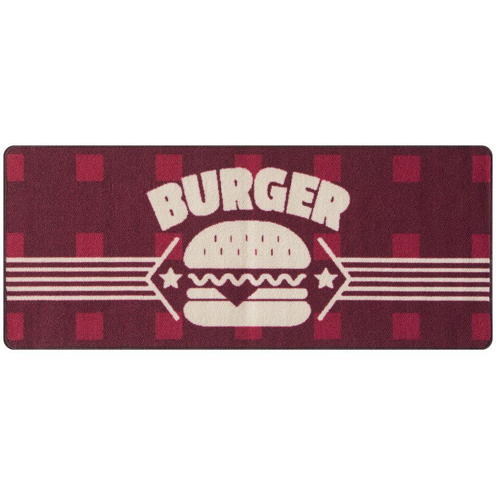 Jogo De Tapete Cozinha Gourmet 03 Peças Burger Jolitex