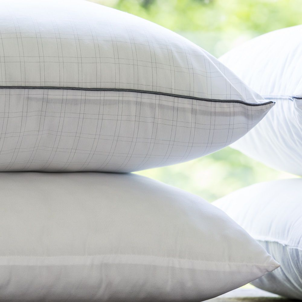 Kit 02 Travesseiros Anti Stress Camesa 0,50x0,70m Suporte Firme