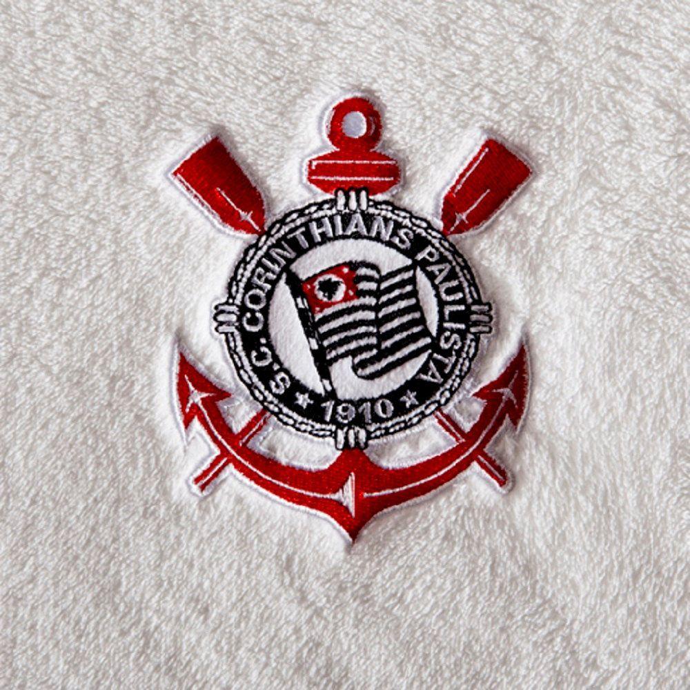 Manta Jolitex Infantil Berço Bebê Corinthians 0,90x1,10m Bordada