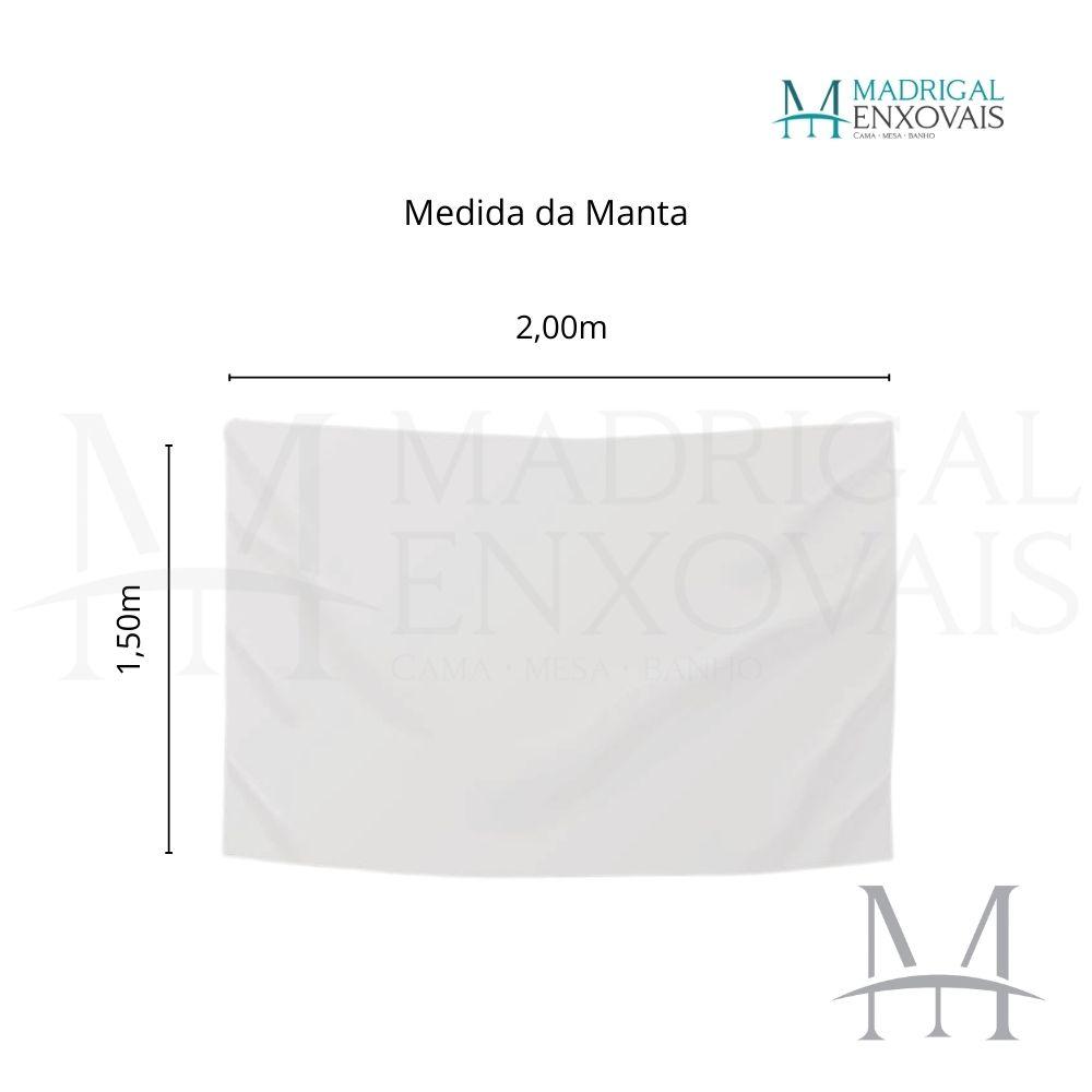 Manta Jolitex Solteiro Soft Microfibra Brilha no Escuro Azul