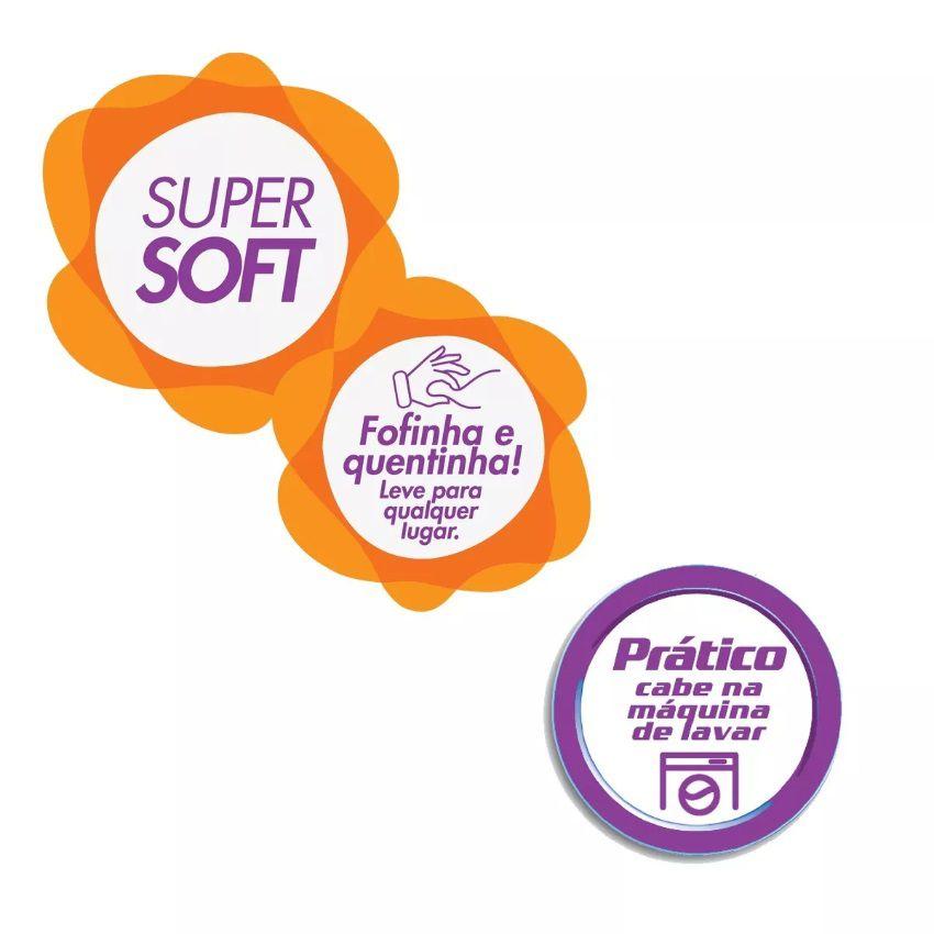 Manta Solteiro Soft Fleece Infantil Microfibra Carros Lepper