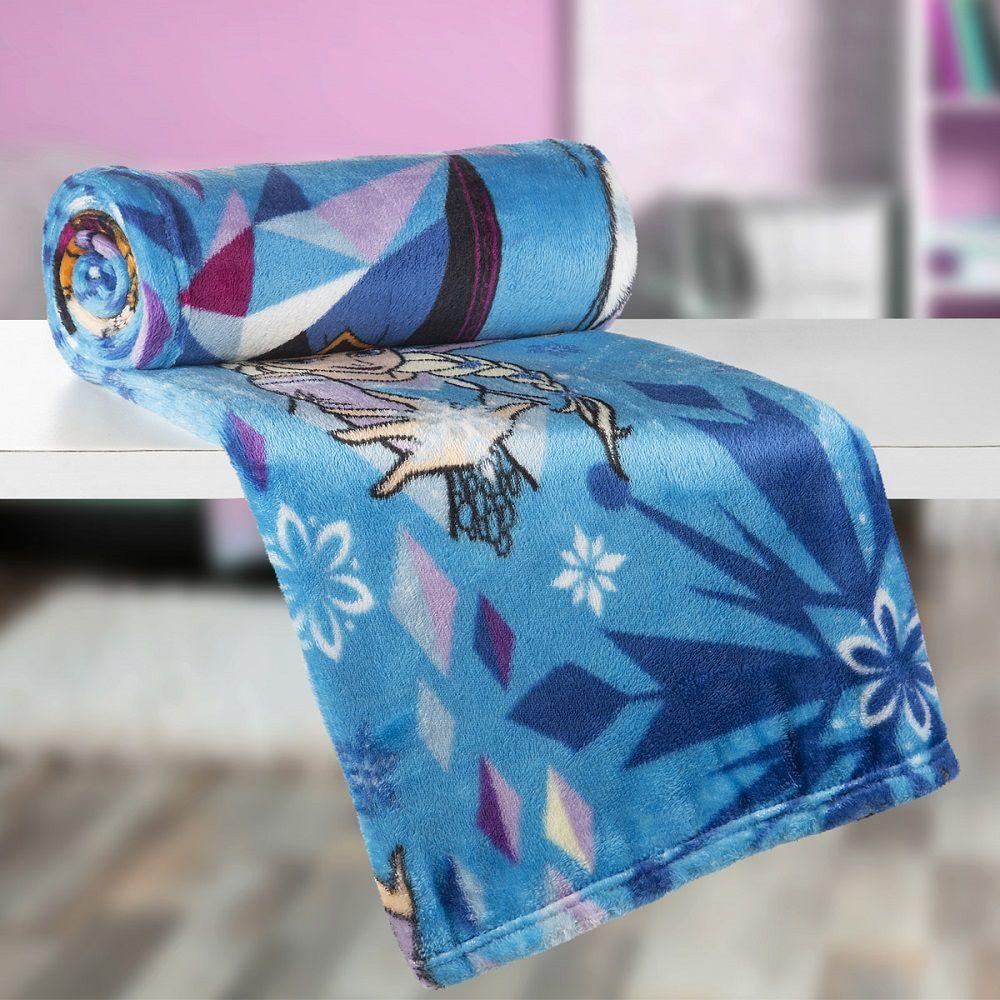 Manta Solteiro Soft Fleece Infantil Microfibra Frozen Lepper