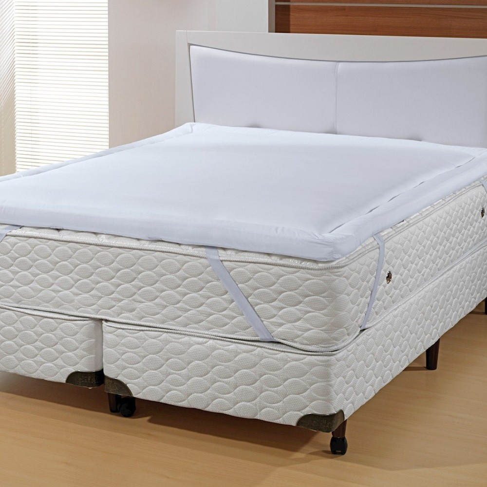 Pillow Top Altenburg Queen Especial 100% Algodão 200 Fios Lit Blanc