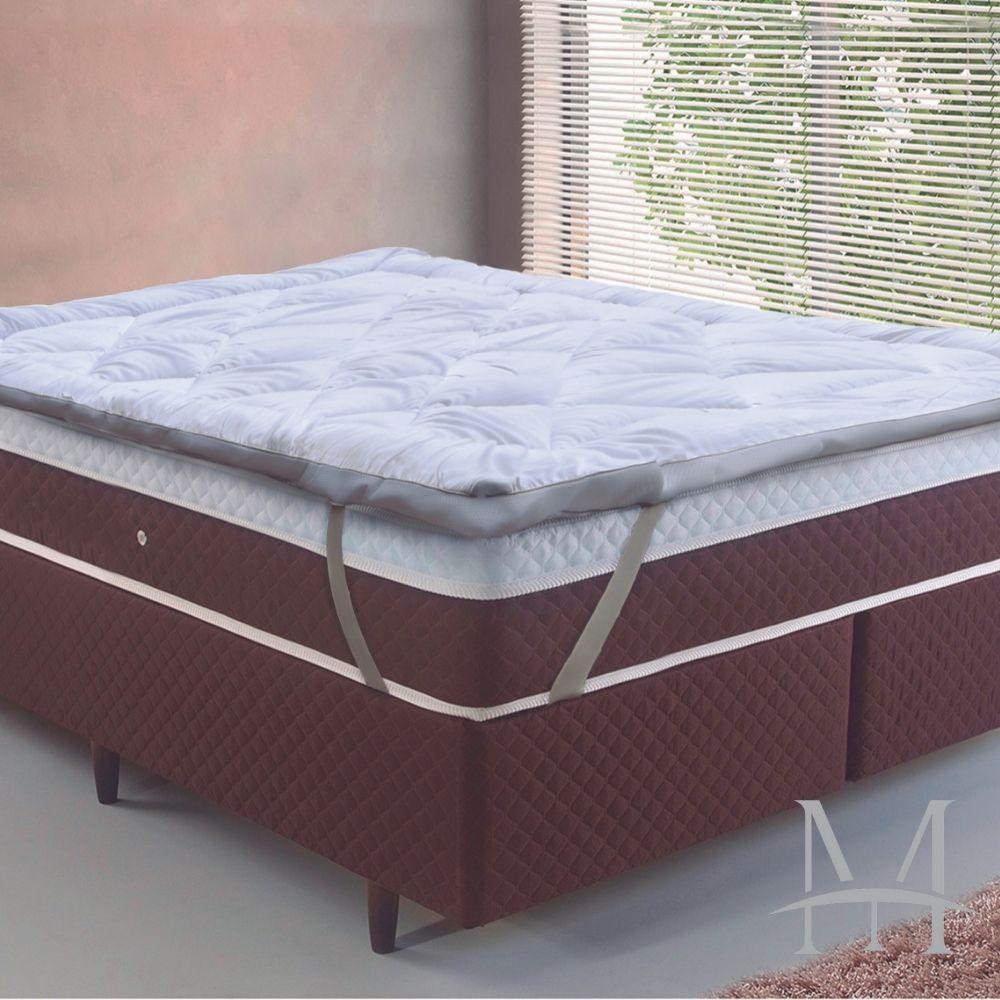Pillow Top Casal Toque de Plumas Tessi 1,38x1,88m Extra Macio