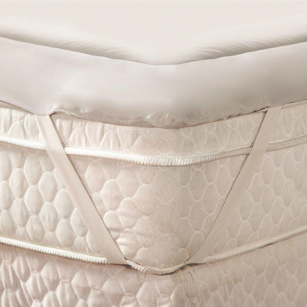 Pillow Top Protetor De Colchão Casal 1,40x1,90m Trisoft