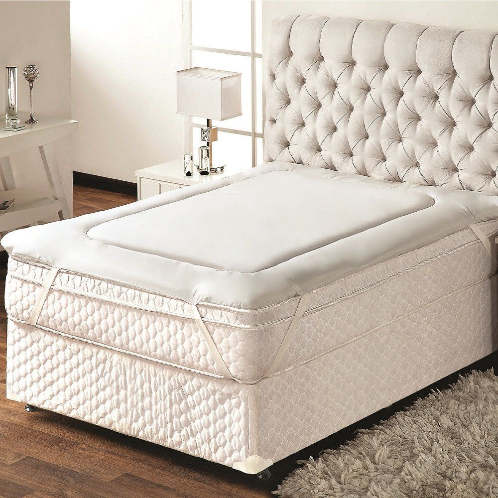Pillow Top Protetor De Colchão Solteiro 0,90x1,90m Trisoft