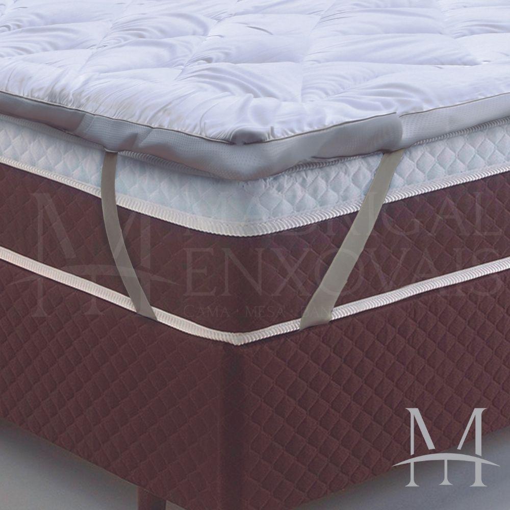 Pillow Top Queen Toque de Plumas Tessi 1,58x1,98m Extra Macio