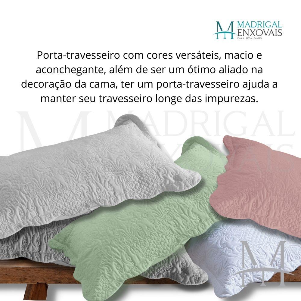 Porta Travesseiro Avulso Milão Arabesco Ultrasonic 50x70cm