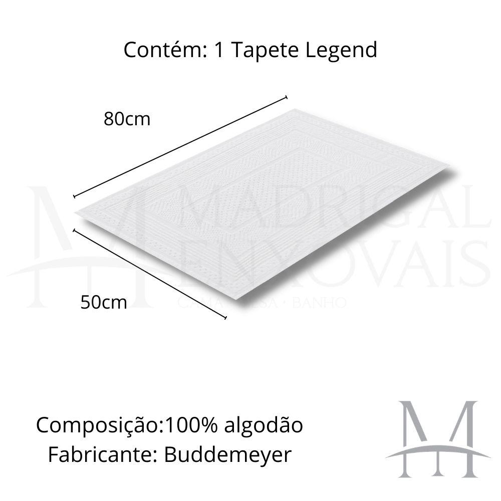 Tapete Banheiro Buddemeyer Legend 50x80cm 100% Algodão