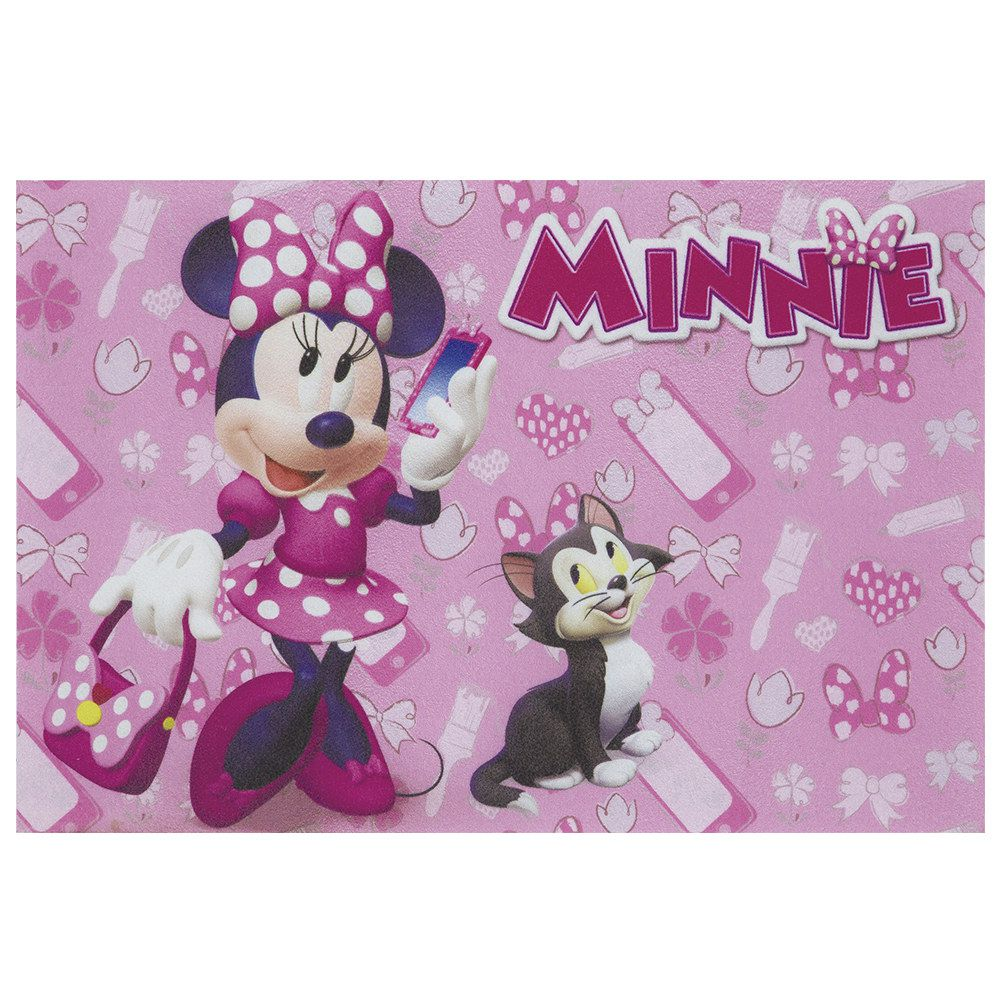 Tapete Infantil Jolitex Digital Minnie Fashion 0,40m X 0,60m