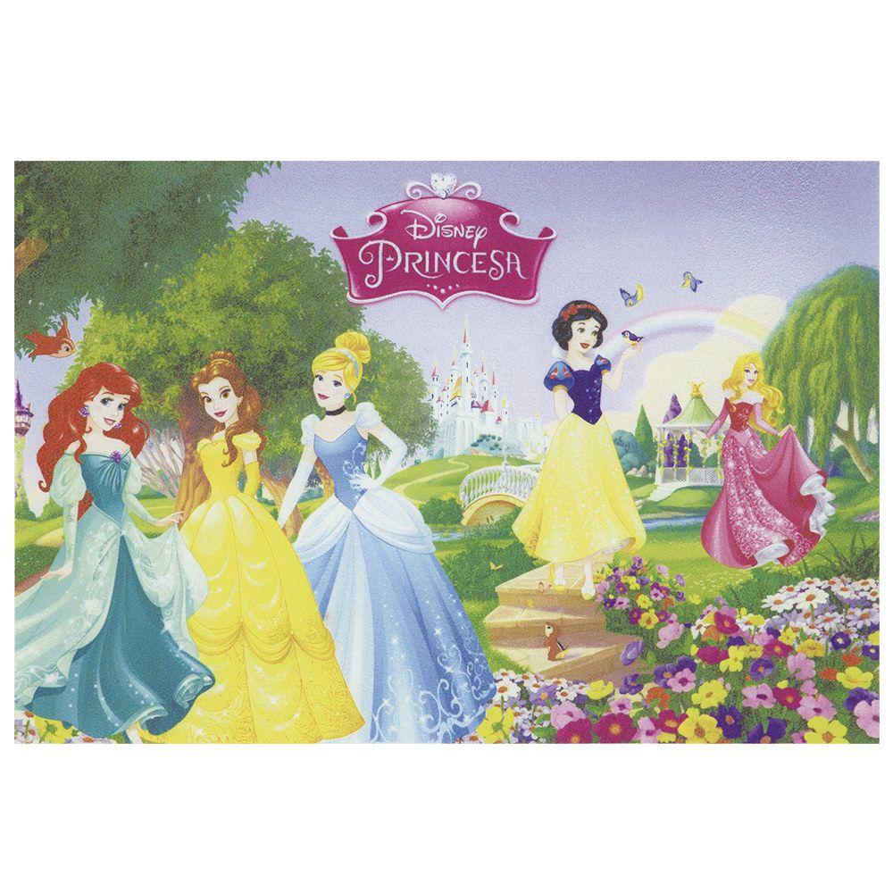 Tapete Infantil Jolitex Digital Princesas 0,40m X 0,60m