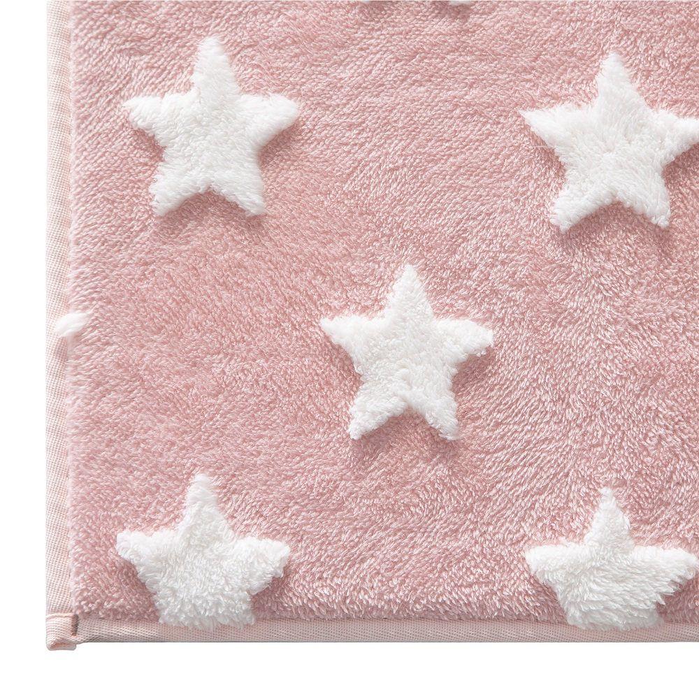 Tapete Infantil Jolitex Mimo Estrelas Rosa 0,70x1,00m Antiderrapante