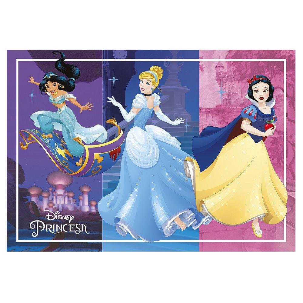 Tapete Infantil Jolitex Princesas Disney 0,70x1,00m Sublimado
