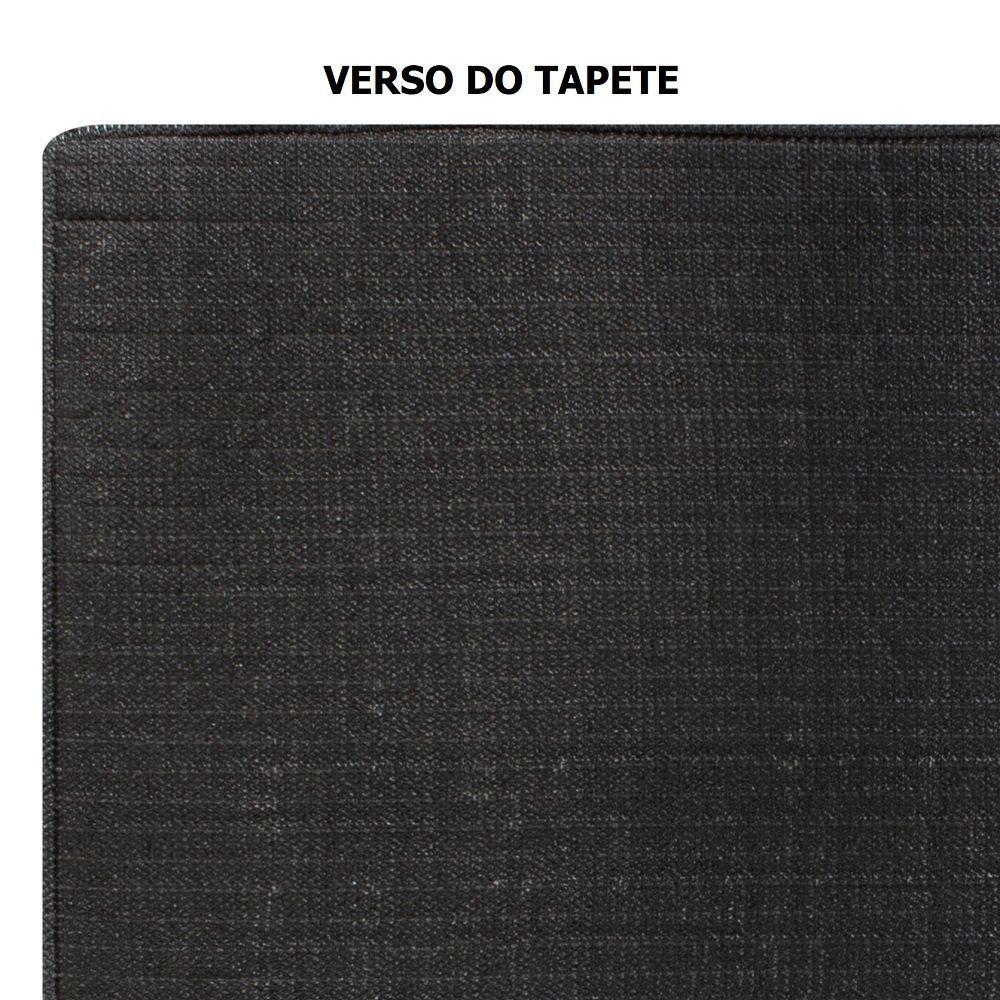 Tapete Jolitex Beira de Cama Milano Pelo Alto 0,50x0,90m Rubi