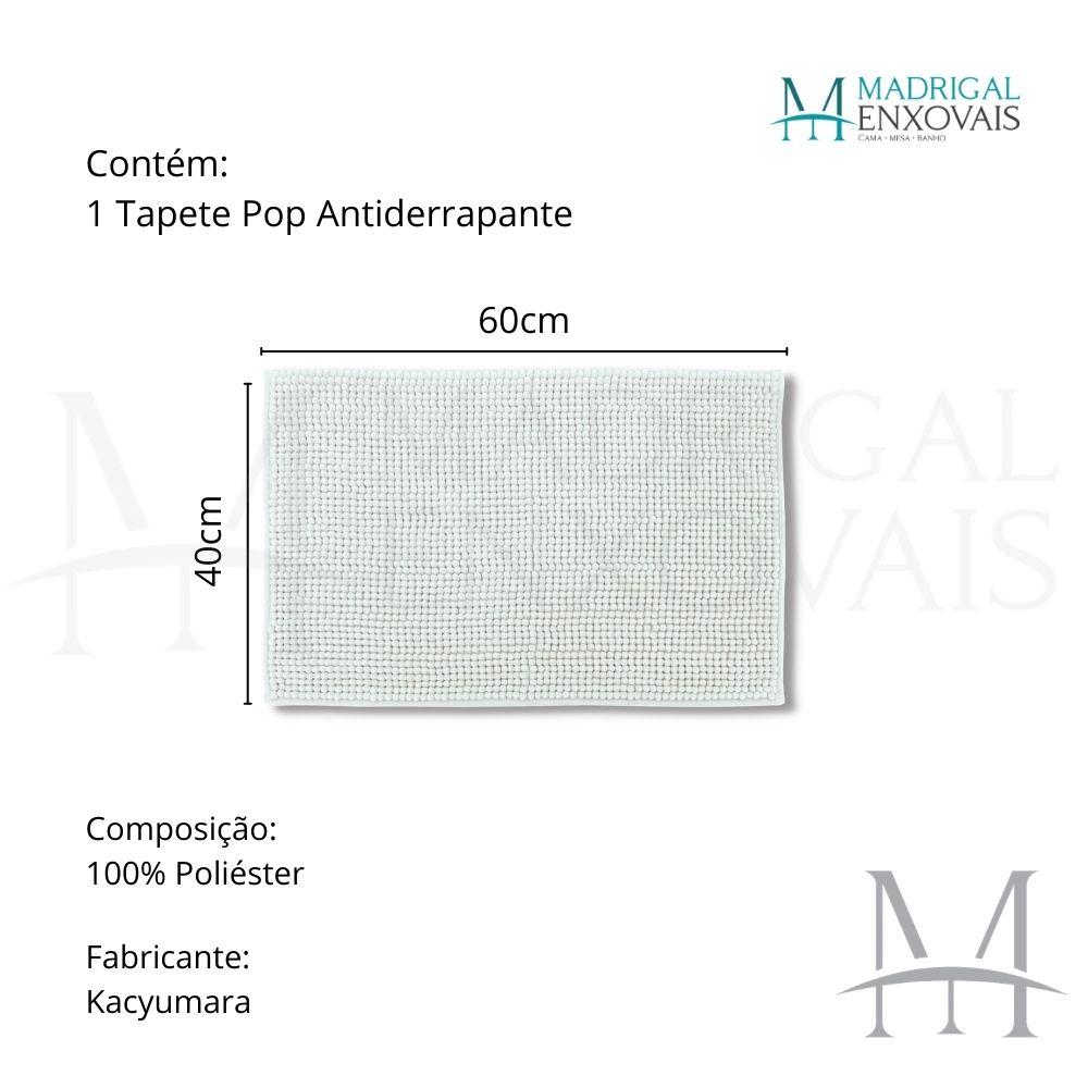 Tapete para Banheiro Kacyumara Pop Antiderrapante 40x60cm