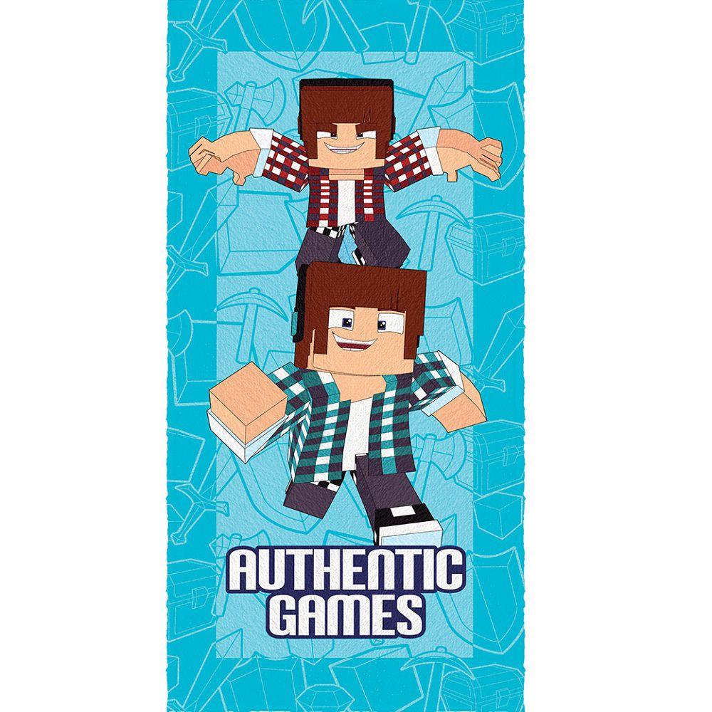 Toalha Banho Infantil Felpuda Authentic Games Lepper #5