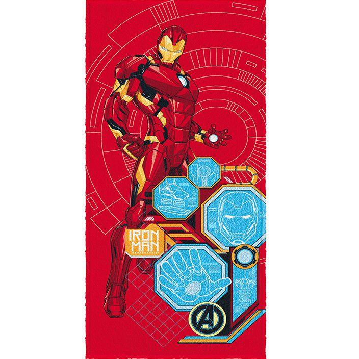 Toalha Banho Infantil Felpuda Avengers Vingadores Lepper #3