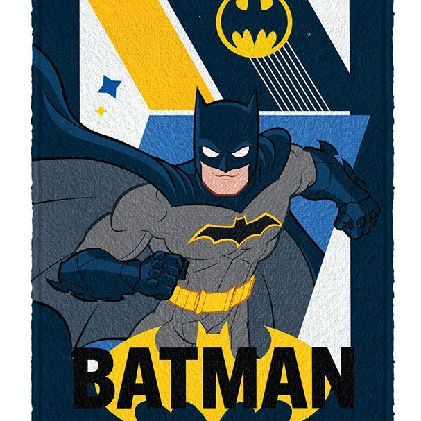 Toalha Banho Infantil Felpuda Batman Lepper Oficial #1