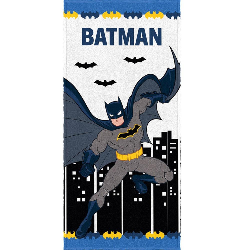 Toalha Banho Infantil Felpuda Batman Lepper Oficial #2